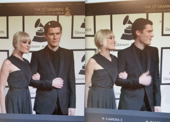 Screen grabs from the Grammys livestream!